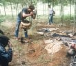 188198 82: A photographer documents the killing May 5, 1994 in Rukumbell, Rwanda. Hundreds of Tutsis were killed at the Rukara Catholic mission April, 1994 in one of the worst massacres of the Rwandan violence. (Photo by Scott Peterson/Liaison)
