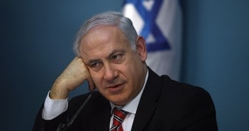 Israeli Prime Minister Benjamin Netanyahu is seen during a press conference on February 22, 2010 in Jerusalem, Israel. (Photo by Lior Mizrahi/Getty Images)