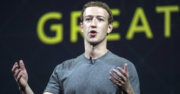 Mark Zuckerberg, chief executive officer and founder of Facebook Inc., speaks during the Oculus Connect 3 event in San Jose, California, U.S., on Thursday, Oct. 6, 2016. Facebook Inc. is working on a new virtual reality product that is more advanced than its Samsung Gear VR, but doesn't require connection to a personal computer, like the Oculus Rift does. Photographer: David Paul Morris/Bloomberg via Getty Images
