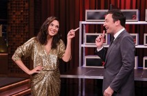 THE TONIGHT SHOW STARRING JIMMY FALLON -- Episode 0681 -- Pictured: (l-r) Actress Gal Gadot during an interview with host Jimmy Fallon on May 23, 2017 -- (Photo by: Andrew Lipovsky/NBC/NBCU Photo Bank via Getty Images)